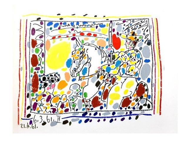"""Pablo Picasso, 'Original Lithograph 'Toros"""" by Pablo Picasso', 1961, Galerie Philia"""