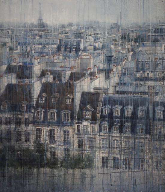 , 'Parisian Rooftops V,' 2019, Eckert Fine Art