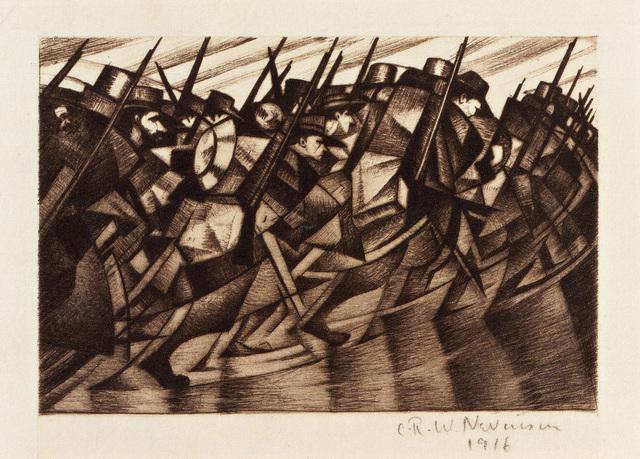 , 'Returning to the Trenches,' 1916, Osborne Samuel