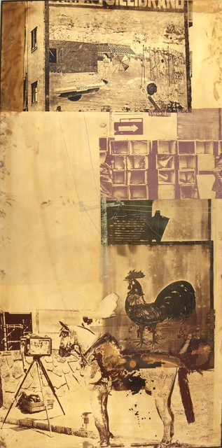 Robert Rauschenberg, 'Copperhead—Bite VIII / ROCI CHILE', 1985, Acrylic with corrosives and polishes on copper sheet, Robert Rauschenberg Foundation