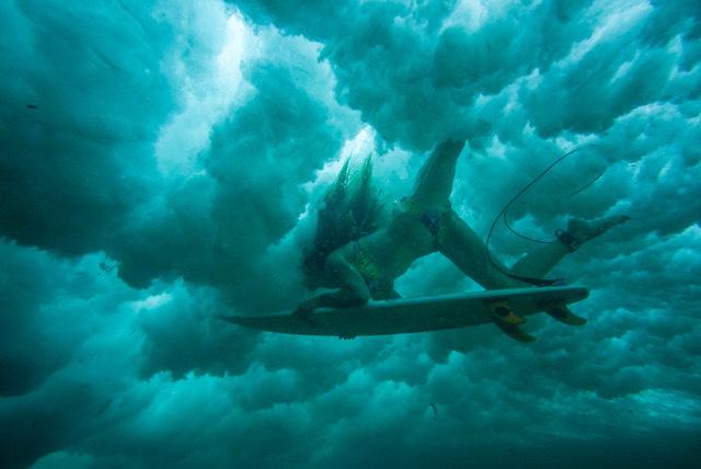 , 'Davinia Vidal surfing in La Izquierda, Lanzarote, Canary Islands.,' , Anastasia Photo