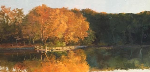 , 'Golden Glow,' 2017, Peninsula Gallery