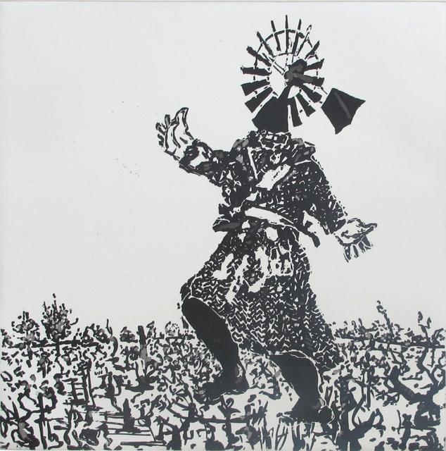 William Kentridge, 'West Coast Series (Set of 5 Prints), Scarecrow ', 2010, David Krut Projects