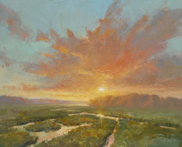 , 'Transitioning Light,' 2018, Addison Art Gallery