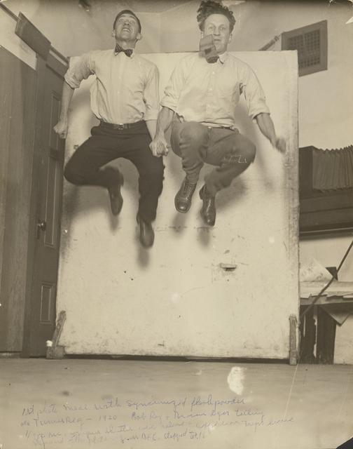 , ' First Synchronized Powder Flash,' 1920, J. Paul Getty Museum