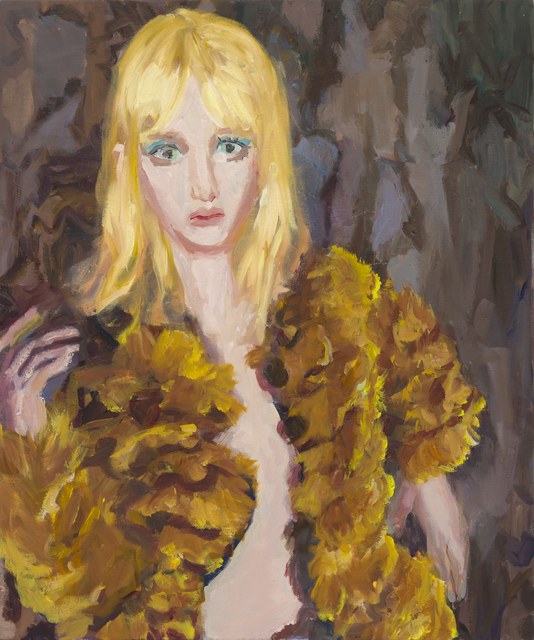 , 'Blonde in Fur,' 2019, VIVIANEART