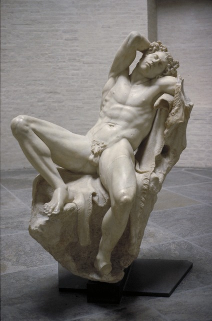 , 'Sleeping Satyr (Barberini Faun),' ca. 220 BCE, Allan Kohl