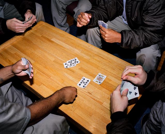 , 'Card Game, Nebraska, Correctional Youth Facility, Omaha, NE,' 2005-2018, Huxley-Parlour