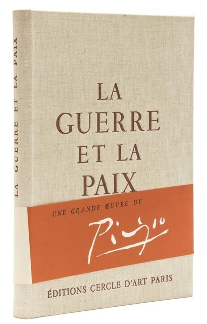 Pablo Picasso, 'La Guerre et la Paix', 1954, Print, Book, Forum Auctions