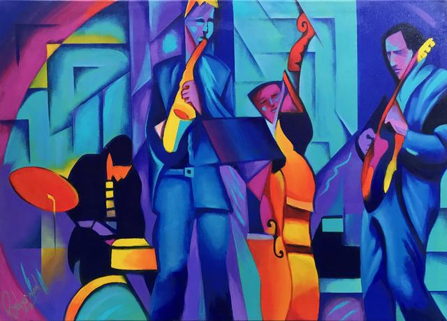 Ken Beberman, 'JAZZED UP', 2019, Gallery Art