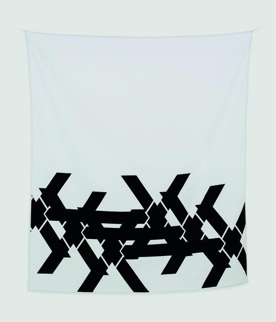 , 'Double X,' 2015, Rotwand