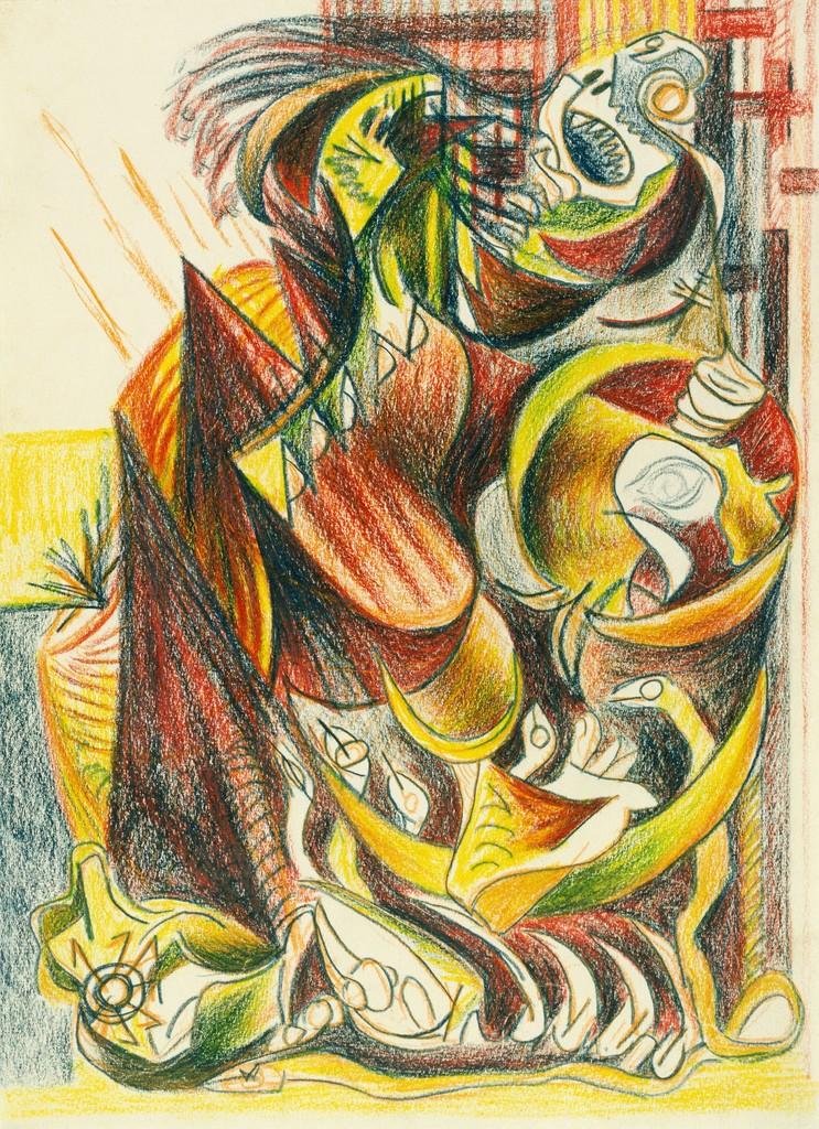 Jackson Pollock Untitled 1939 Artsy
