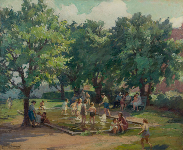 , 'Afternoon at the Playground,' 19th -20th Century, Vose Galleries