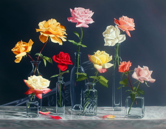 ", '""Late Summer Roses"" ,' 2016, Bonner David Galleries"