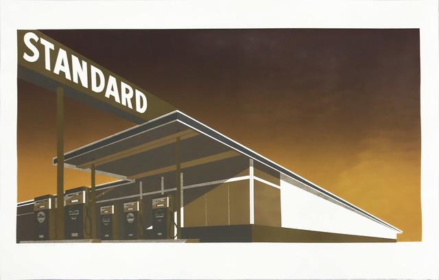 , 'Mocha Standard Station,' 1969, Hamilton-Selway Fine Art