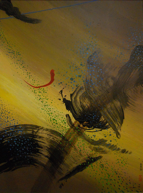 , 'Dragon with Red,' 1999, Walter Wickiser Gallery