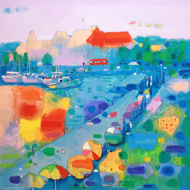 , 'Colourful Seaside,' , Madrona Gallery