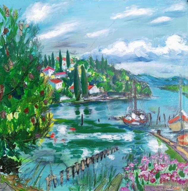 , 'Water series summer 2019 - plein air in situ paintings, Seča bay, ,' 2019, Noravision Gallery