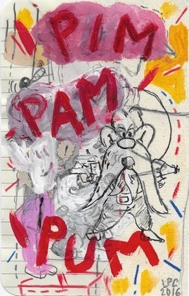 Luis Pérez Calvo, 'Pim pam pum', 2017, Blanca Soto Arte