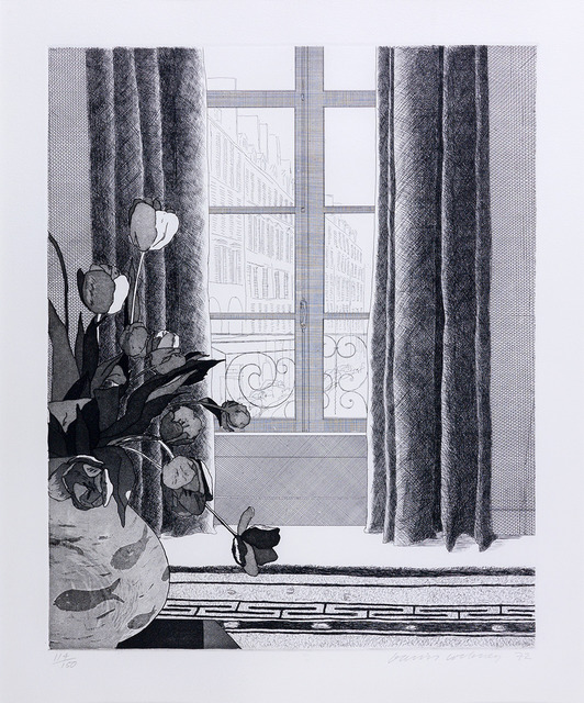 David Hockney, 'Rue de Seine ,' 1972, Susan Sheehan Gallery