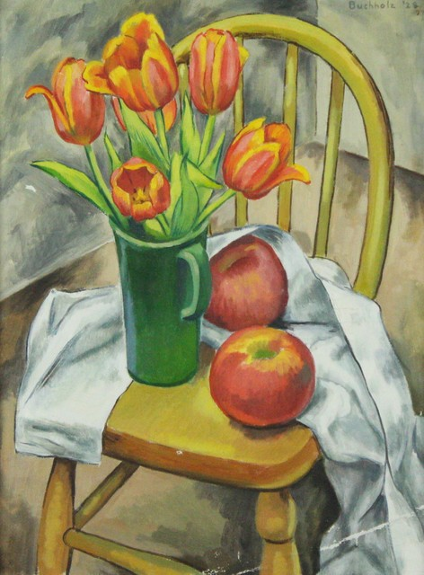 Frederick Buchholz, 'Still Life with Tulips', 1928, VHD Gallery