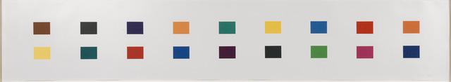 , '18 Colors (Cincinnati),' 1979-1982, Susan Sheehan Gallery
