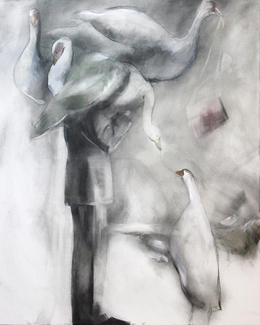 """, '""""Cabeça de pato"""",' 2017, Arte de Gema"""