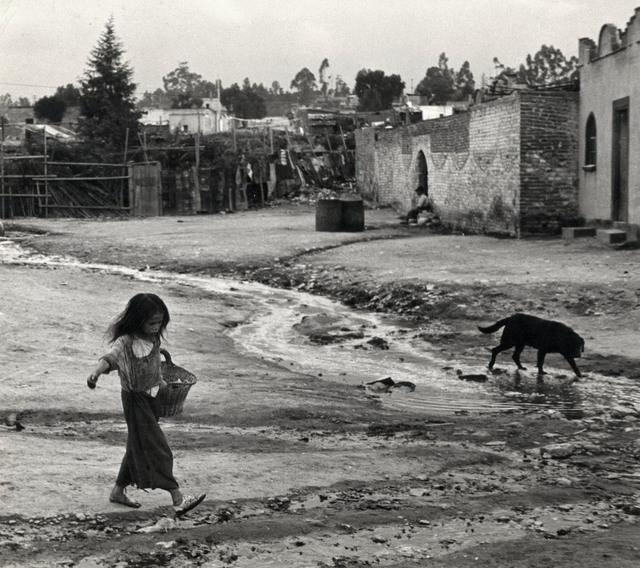 Helen Levitt, 'Mexico City (girl and dog)', 1941, Laurence Miller Gallery