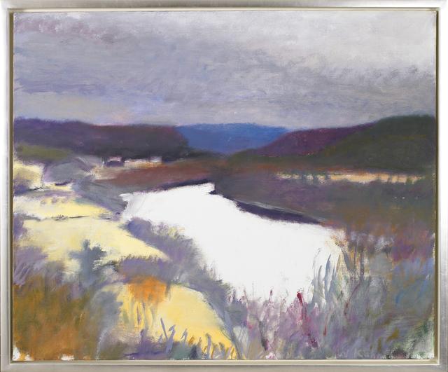 Wolf Kahn, 'Bend in the River', ca. 1973, Vallarino Fine Art