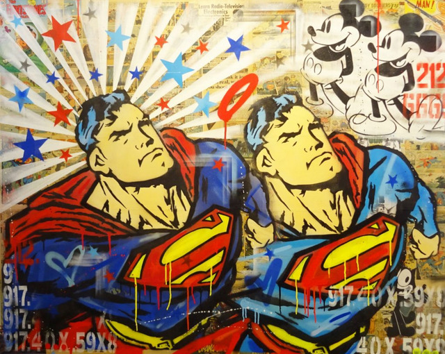 , 'Hero - Superman,' 2016, Maddox Gallery