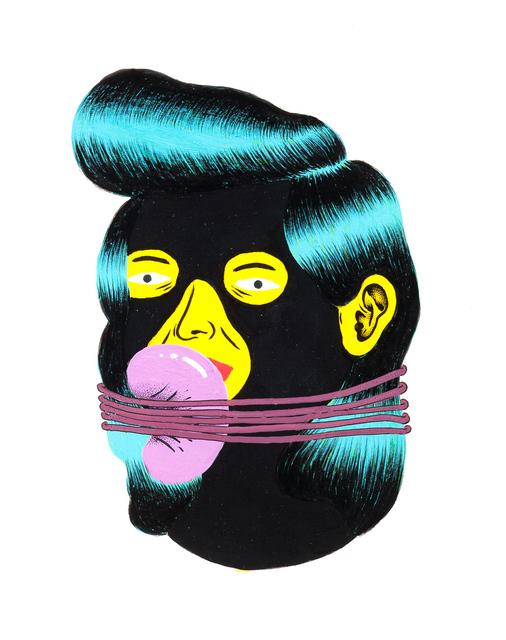 Grip Face, 'Retrato #12 Black Faces', 2016, Coleccion SOLO