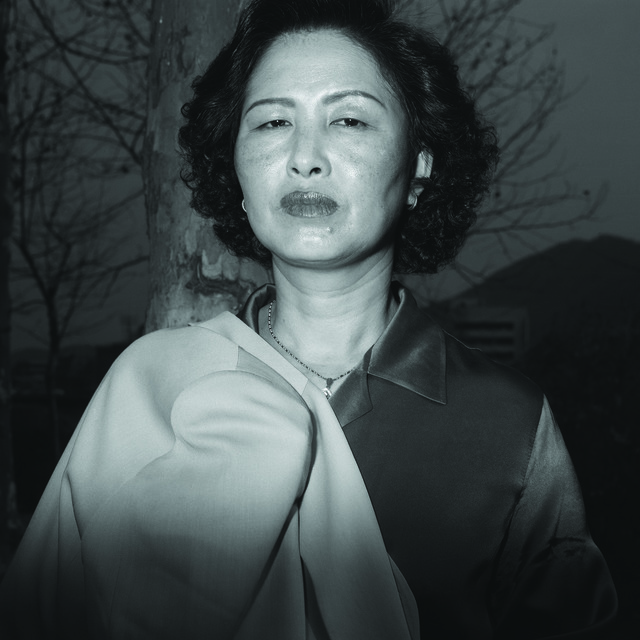 , 'Ajumma Puts a jacket on her shoulder, March 27 ,' 1997, CHOI&LAGER