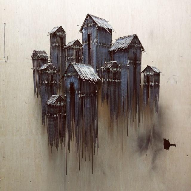 , 'Floating Favela,' 2018, GALERIE BENJAMIN ECK