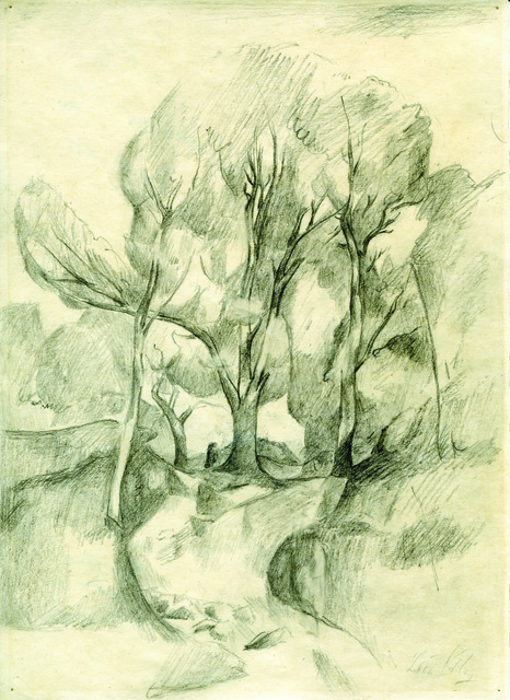 , 'Landscape - The Park,' 1932, Francis M. Naumann Fine Art
