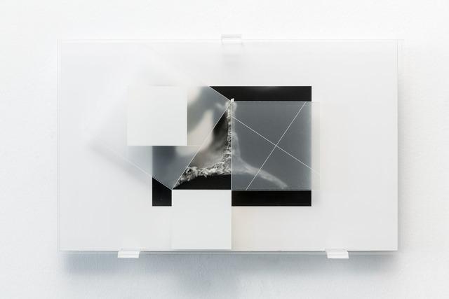 , 'rob_n_12.11.10_002.07 _triangolo _studio per teorema di pitagora da h. e. dudeney,' 2010-2013, Lia Rumma