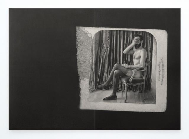 , 'Frictions et cri de soie,' 2015, Alberta Pane