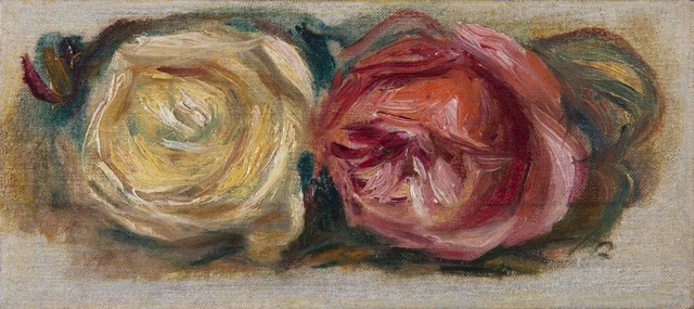 , 'Deux roses,' , HELENE BAILLY GALLERY