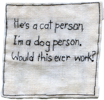 , 'He's a cat person,' 2010, Muriel Guépin Gallery