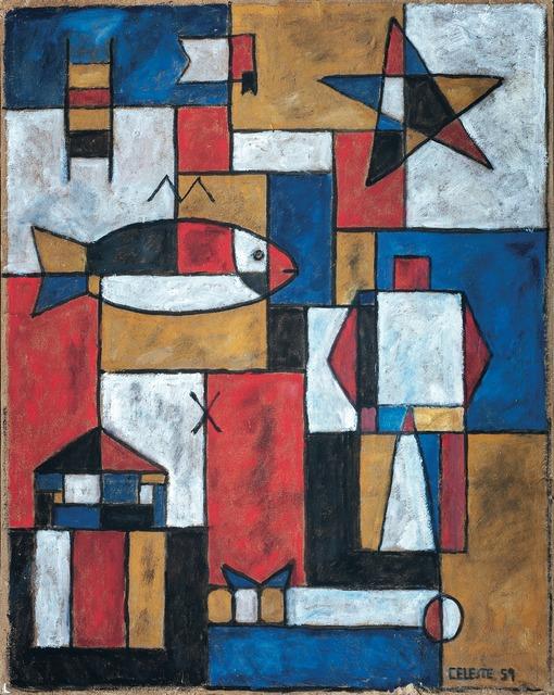 , 'Constructivo colores primarios,' 1959, Galería de las Misiones