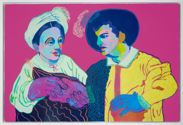 , 'Good Luck (after Caravaggio),' 2017, Rebecca Hossack Art Gallery