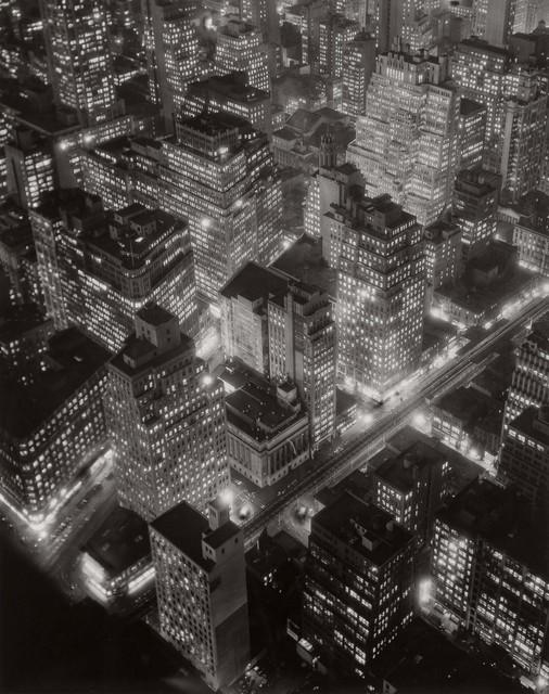 Berenice Abbott, 'New York at Night', 1932, Doyle