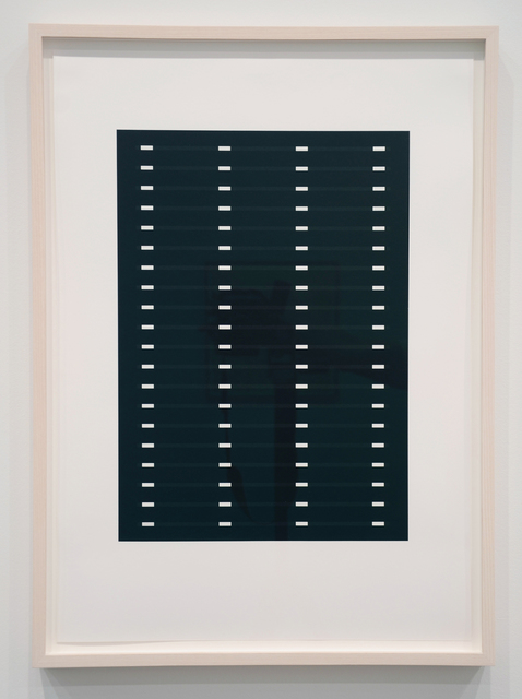 , '10 Vertical Divisions, 20 Horizontal Lines,' 2016, Minus Space