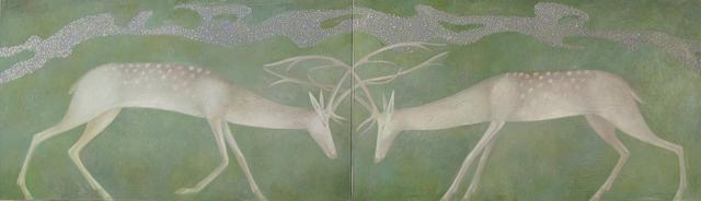 , 'Creation Myth (Diptych),' 2012, Andakulova Gallery