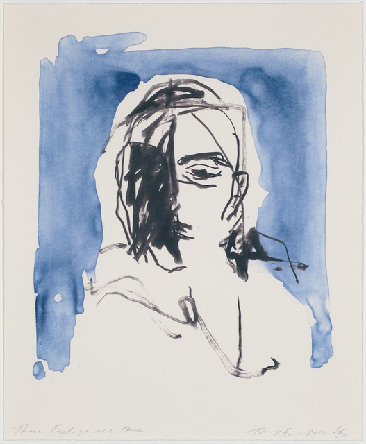Tracey Emin, 'These Feelings Were True', 2020, Print, Lithograph on paper, Hang-Up Gallery