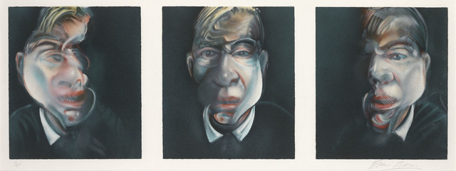 , 'After Three Studies for a Self Portrait,' 1981, Marlborough London