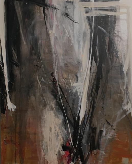 , 'Ochre Black White Drop,' 2017, FP Contemporary