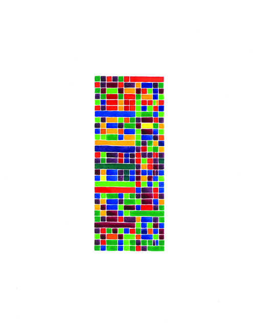 , 'Prelude in F-sharp Major (green), No. 13,' 2013, InLiquid