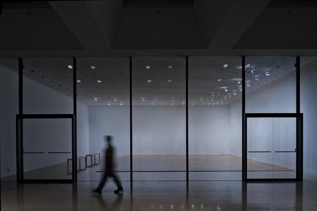 , 'Northwest Corner, Southeast Light,' 2011, Rice University Art Gallery