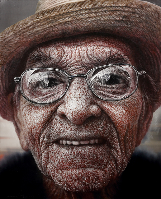 , 'Face,' 2017, Galerie Bhak