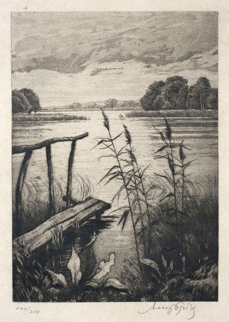 , 'Lake View,' n.d., Ben Uri Gallery and Museum